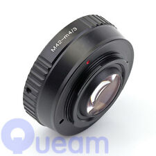 Focal Reducer Speed Booster M42 Lens to Micro Four Thirds m4/3 Adapter GX1 GF7