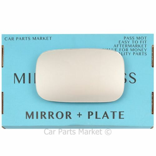 plate Right Driver side wing mirror glass for MG MGF 1995-2000