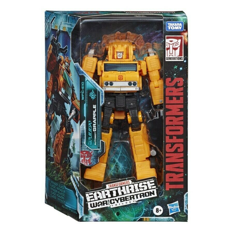 Transformers Hasbro War For Cybertron Earthrise Voyager Grapple Brand New