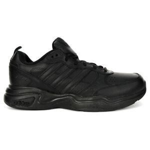 Adidas Men's Essentials Strutter Wide Core Black/Grey Six Casual Shoes EG5143...