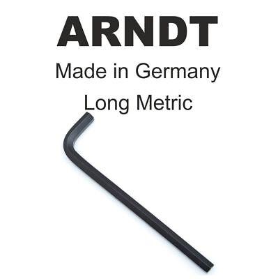 Ball End LONG 2.5mm 3//32 Allen Alen Alan Hexagonal Hex Key Keys ARNDT GERMANY302