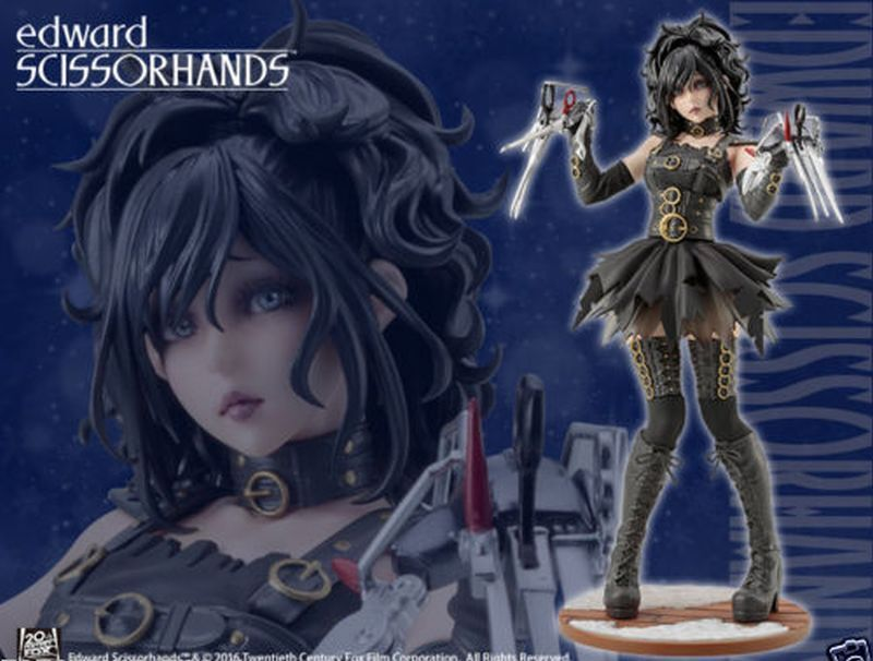New   Kotobukiya Horror Bishoujo Edward Scissorhands Figure from Japan Auth
