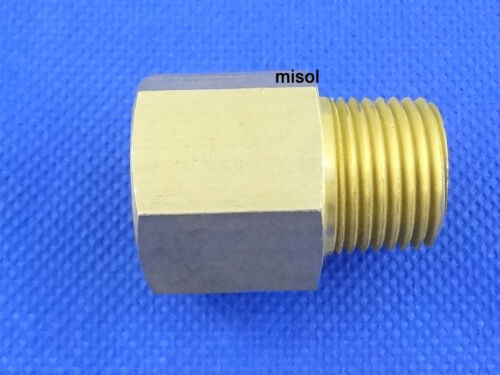 """DN15 1 pcs of Adaptor fitting 1//2/"""" BSP male to 1//2/"""" NPT female Brass Adapter"""