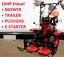 Tiller-Cultivator-TwoWheel-tractor-10HP-Diesel-with-E-starter-mower-trailer thumbnail 1
