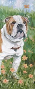 BULLDOG-ENGLISH-DOG-NEW-ORIGINAL-OIL-PAINTING-CANVAS-SANDRA-COEN-ARTIST-ENGLAND