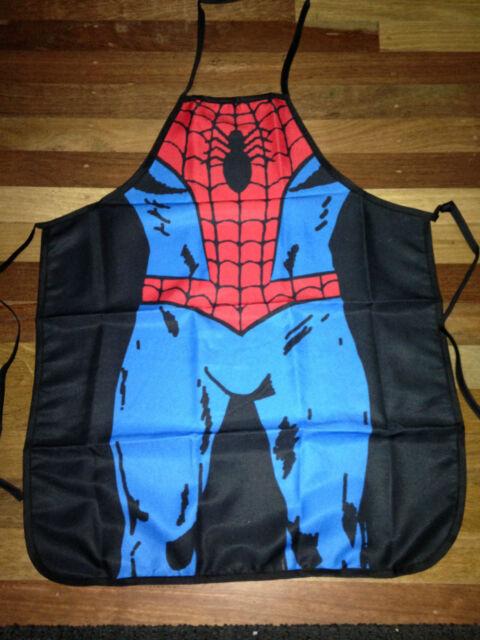 Avengers SuperHero Adult & Kids BBQ Chef Apron Party Novelty Costume Fancy Dress