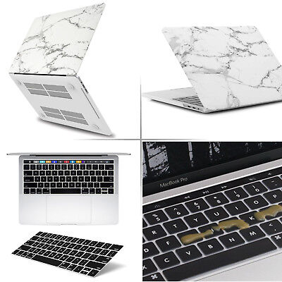 NEW! Black MacBook Pro 13 Inch Shockproof Hard Case Shell with Touch Bar//ID