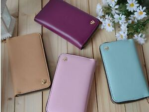 Crown-PU-Leather-Smart-Zip-Wallet-Credit-Card-Case-Cover-for-iPhone-4-4s-iPhone4