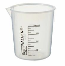 Thermo Scientific Nalgene Polypropylene Griffin Plastic Beakers 400ml 6pcpack