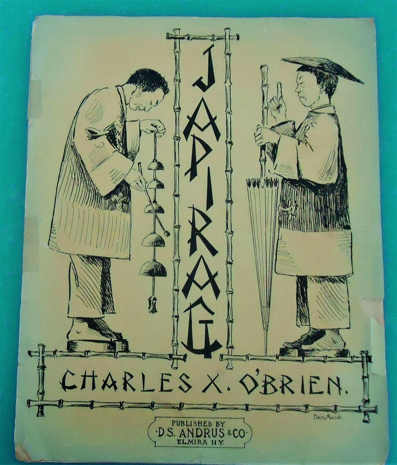 Japi RAG 1911 CHARLES X. O'BRIEN HTF Sheet Music