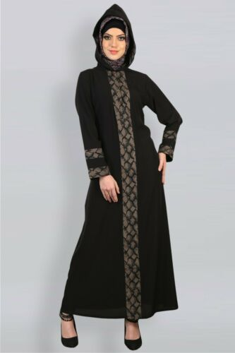 Shannoh Eid Ramadan Abaya//Jilbab Modest Islamic Muslim Clothing Long Dress Hijab