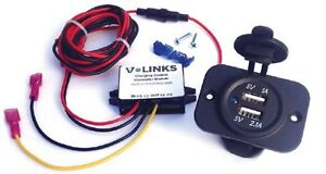 V-Links-Charge-Golf-Cart-Phone-USB-Charger-for-Electric-Golf-Carts
