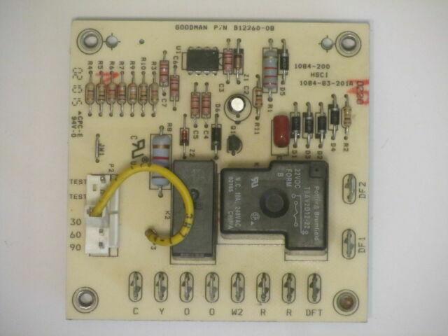 OEM Goodman Janitrol Amana Heat Pump Defrost Control Board Panel B1226008