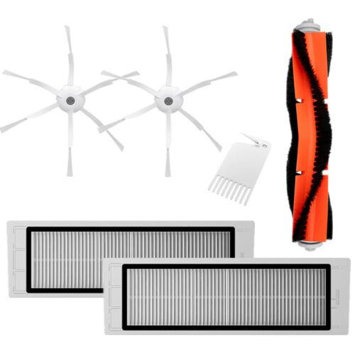 Bürsten /& Filter Set 6x Für Xiaomi Mi Robot Vaccum Zubehör Ersatzteile