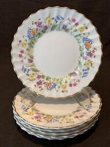 Royal-Doulton-Easter-Morn-Bread-Plates-6-1-8-034-Diameter-Set-of-6