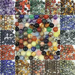 Wholesale-New-Genuine-Natural-Stone-Gemstone-Round-Loose-Beads-4mm-6mm-8mm-10mm