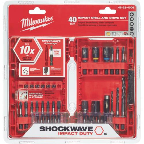 Milwaukee 40Pc Drill And Drive Set