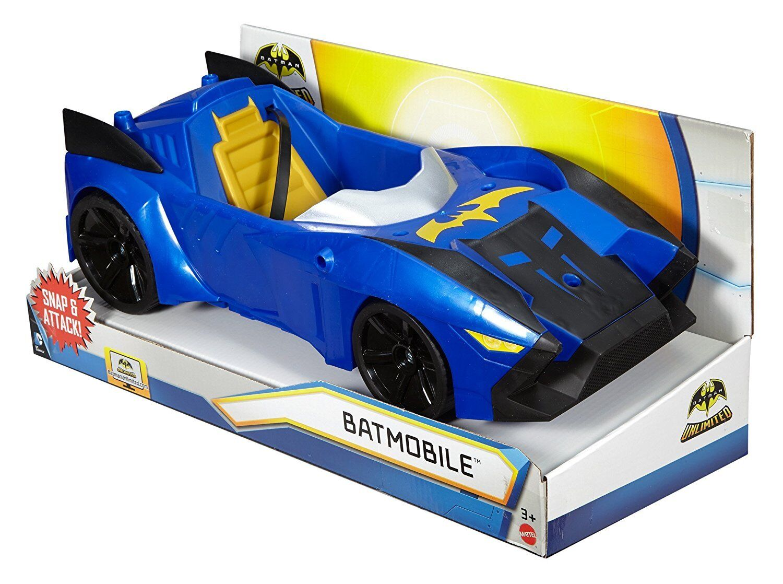 DC Comics Batman Unlimited Batmobile Vehicle Ages 3+ New Toy Play Race Boys Car