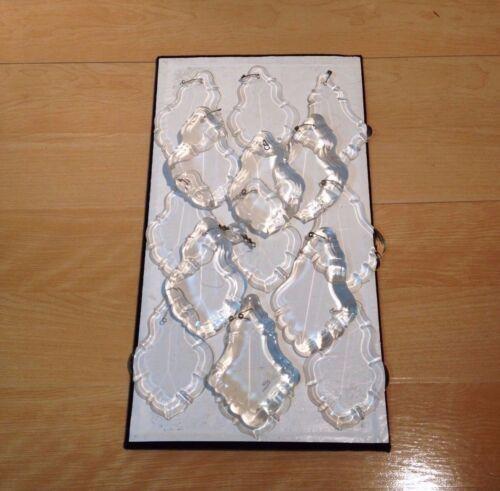 """15 Pieces of Chandelier Pendants Semi-Teardrop Shaped  4/"""""""