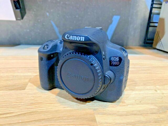 Canon EOS 700D 18.0 MP Digital SLR Camera - Black (Body Only)