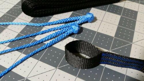 UHMWPE Webbing becket hitch kit Hammock tree straps w// EVO loops