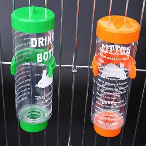 3-Sizes-Plastic-Hanging-Hamster-Guinea-Pig-Rabbit-Water-Bottle-Dispenser-Feeder