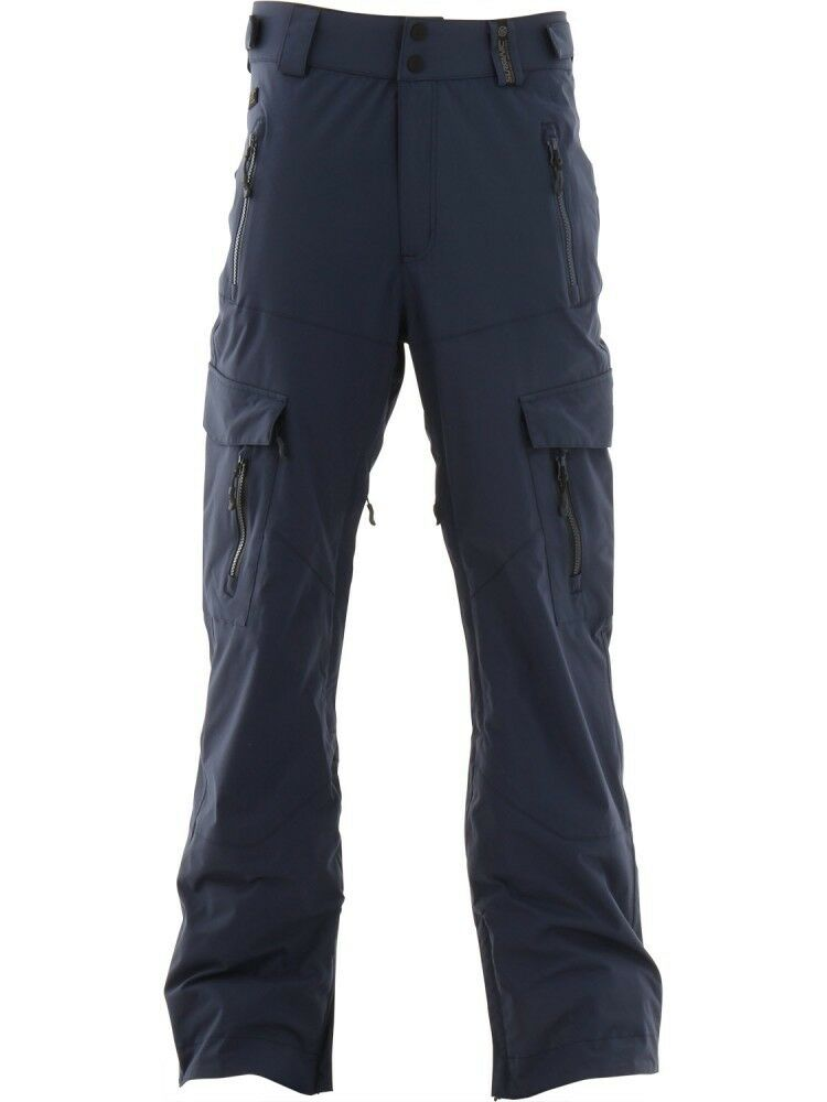 SURFANIC HELLION MENS SNOWBOARDING SKI PANTS 15000 RATING SURFTEX NAVY X-LARGE