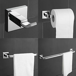 Modern Bathroom Rack Hardware Set Bath Accessories Towel Bar Toilet