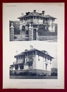 Cannes-1920-Villa-Grand-Rubrent-Architecte-Warnery-Cote-d-Azur-Alpes-Maritime