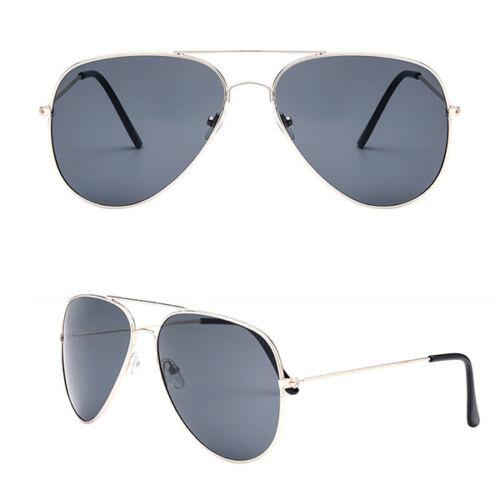 Unisex Women Men Fashion Aviator Mirror Lens Sunglasses Vintage Retro Glasses