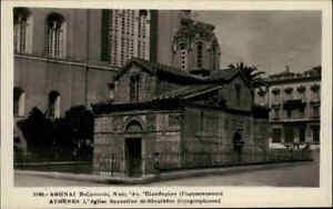 ATHEN-Athenes-Griechenland-1930-40-Vintage-Postcard-Eglise-Church-Kirche-Greece