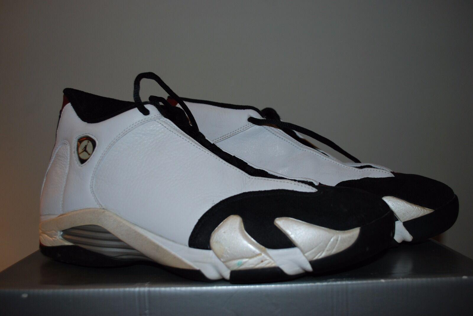 Nike Air Jordan 14 XIV OG Original White Size 12 136011-101   VERY RARE
