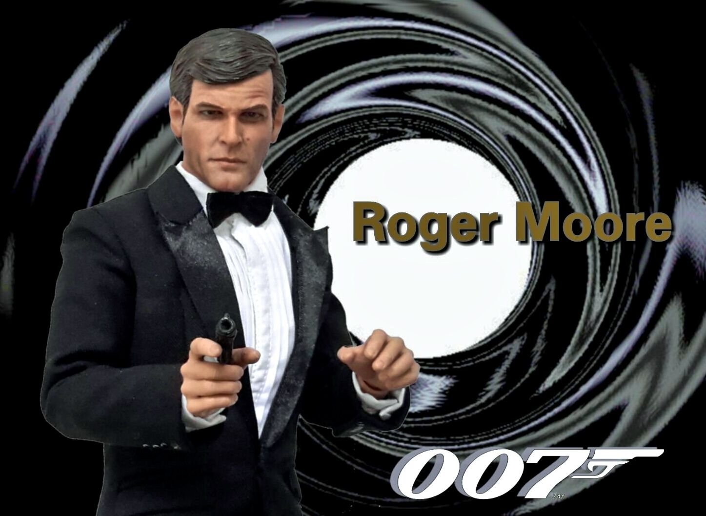 1 6 James Bond Clothing & Roger Moore Head Sculpt Pierce Brosnan Timothy Dalton
