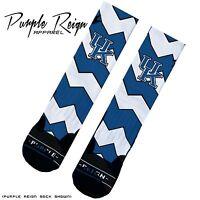 Reebok Kamikaze Ii Letter Of Intent University Of Kentucky Custom Premium Socks