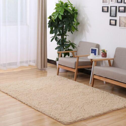 Kinds Rectangle Carpet Soft Dense Fluff Rug Living Room Anti-Skid Yoga Floor Mat