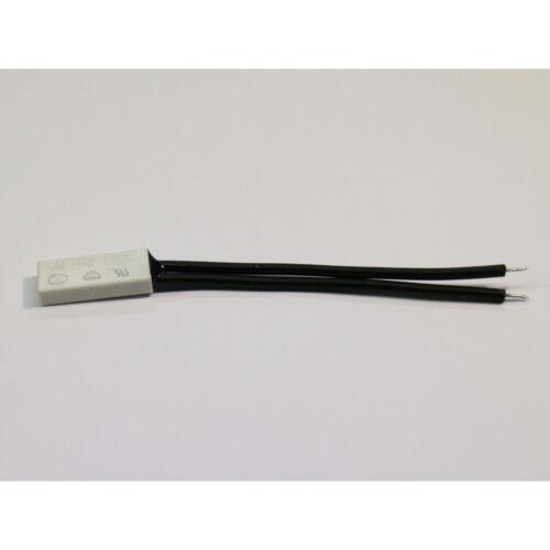 Thermoschalter Klixon Thermosicherung Bimetallschalter BW//KSD301 NC 100°C//75°C