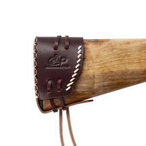 Genuine-Leather-Gun-Buttstock-Extension-Shoulder-Protective-Shotgun-Recoil-Pad