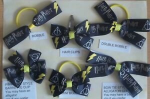 L-HANDMADE-HAIR-BOWS-CHILDREN-039-S-FILMS-THESE-ARE-NOT-GENUINE-LICENSED-ITEMS