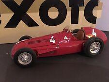 Exoto Alfa Romeo Alfetta 159 1951 GP of Belgium Winner Farina 1/18