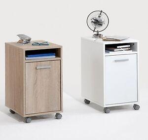 Image Is Loading Laurenz Under Desk Mobile Cabinet Pedestal W Castors