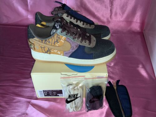 Nike Air Force 1 Travis Scott Cactus Jack Sz 8.5