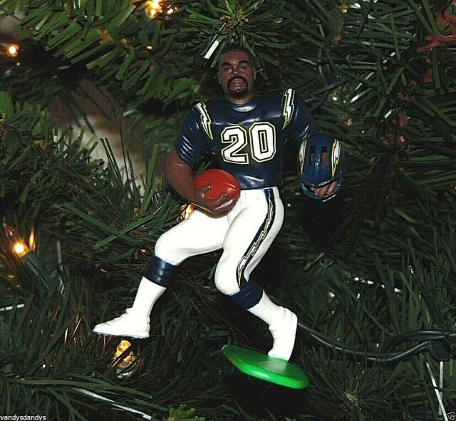 natrone MEANS san diego CHARGERS xmas NFL football ...