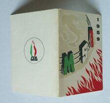 Tessera 1959 MSI Movimento Sociale Italiano - compilata