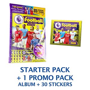 2019-20 Panini Premier League Stickers 50-Pack Set 5 Stickers per Pack Total of 250 Stickers
