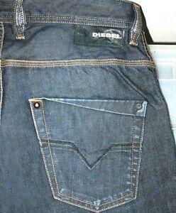SEXY-UOMO-DIESEL-Krooley-ART-88Z-SLIM-CAROTA-Jeans-Scuri-29-x-32-Fit-30-x-31