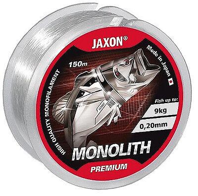 Angelschnur JAXON MONOLITH PREMIUM 150m / 0,10mm-0,35mm Spule Monofile NEU&OVP
