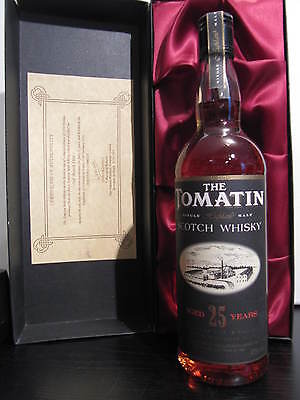 TOMATIN 1966  --  very old super RARE original bottling  --  over 25 y.o.