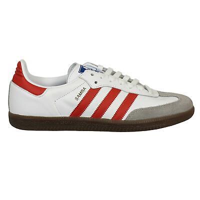 White Scarlet Red /& Gum BNIBWT. Adidas Originals Samba