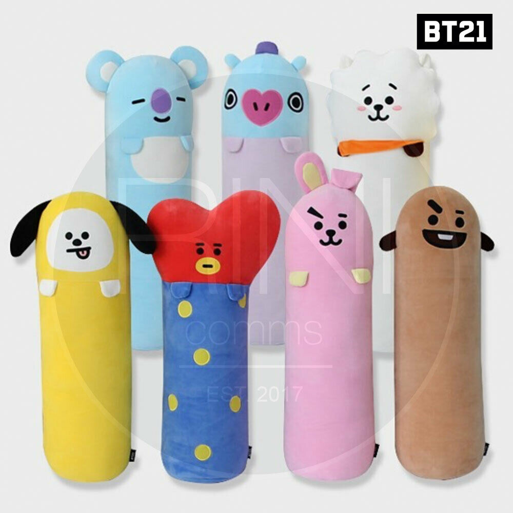 BTS BT21 Official Authentic Goods Long Körper Pilniedrig 7Characters + Tracking Code