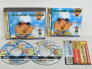 GAME-WARE-Vol-5-Sega-Saturn-with-SPINE-Japan-ss